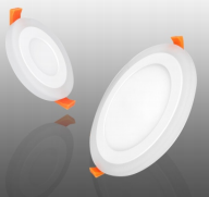 LED Double Color Panel Light(Round)
